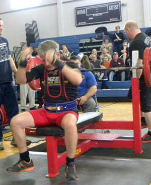 Brochey Ranked First In Usa In Bench Press For Age Weight Class