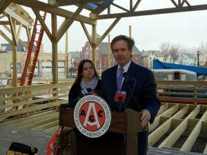 A lot went haywire since then: December 5, 2011 - Congressman Higgins and Rosanne DiPizio of DiPizio Construction Announce That Buffalo is 3rd in the Nation in Construction Jobs Added in 2011.