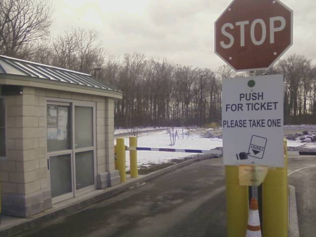 New Automated Parking System on Goat Island Stiffs Senior Citizens