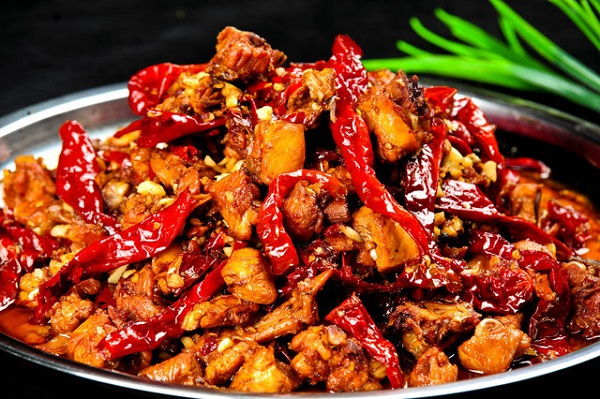 An authentic dish from China --Chongqing Spicy Chicken