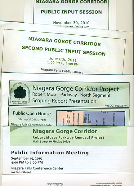 "Robert Moses to be renamed ""Niagara Scenic Parkway""; Why not just remove it?"