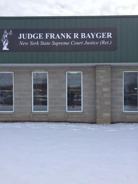 Judge Bayger's Office ...2578 Niagara Falls Blvd. , Niagara Falls