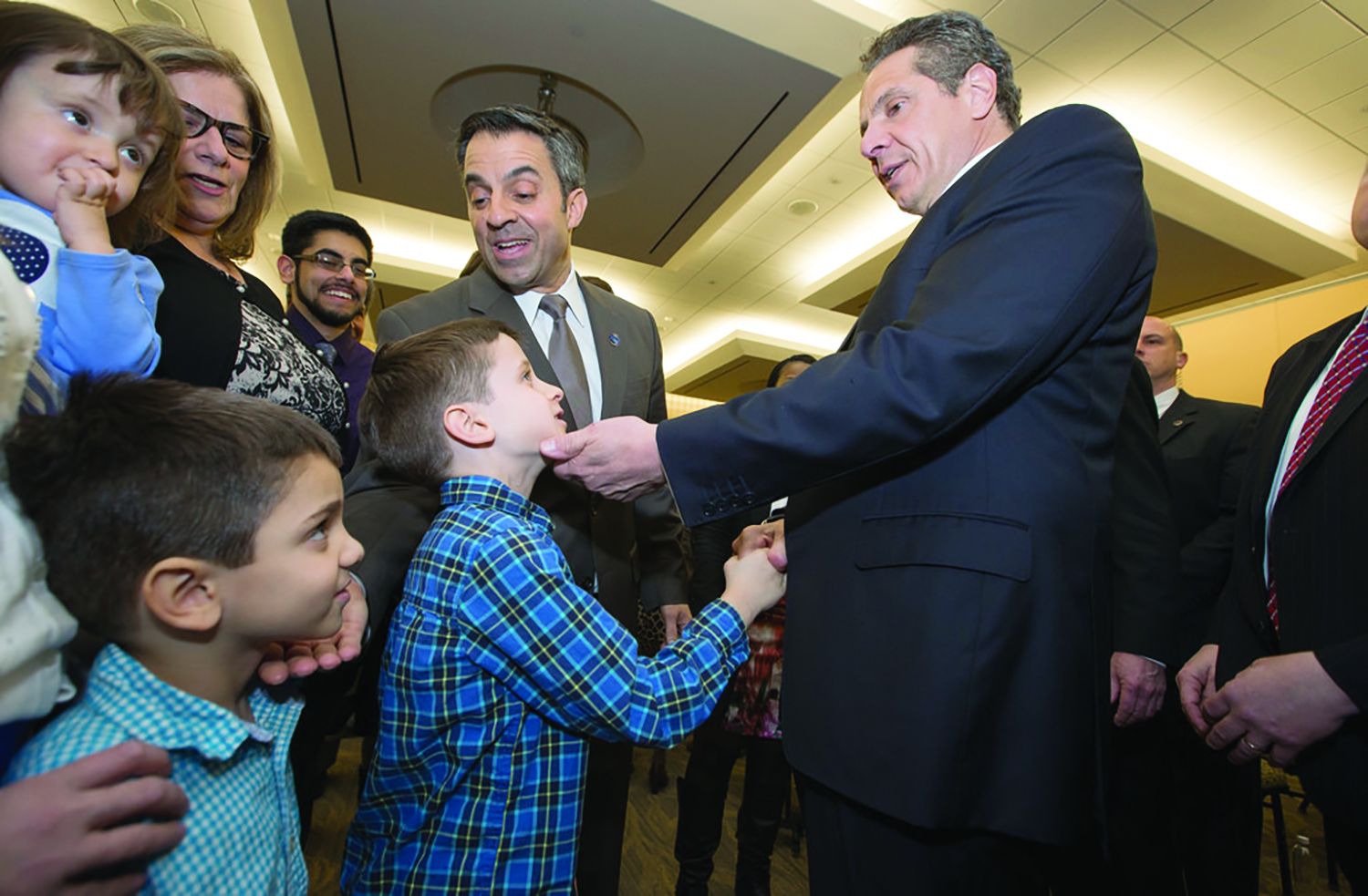 Gov. Cuomo loves the little children. He wants them to have a bright future, which is why he's spending $70 million on the state-owned waterfront while reneging on tens of millions in aid promised for downtown Niagara Falls.