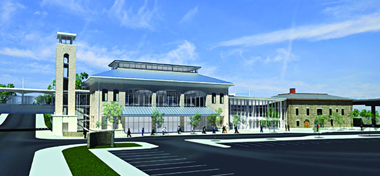The new Niagara Falls International Railway Station and Intermodal Transportation Center
