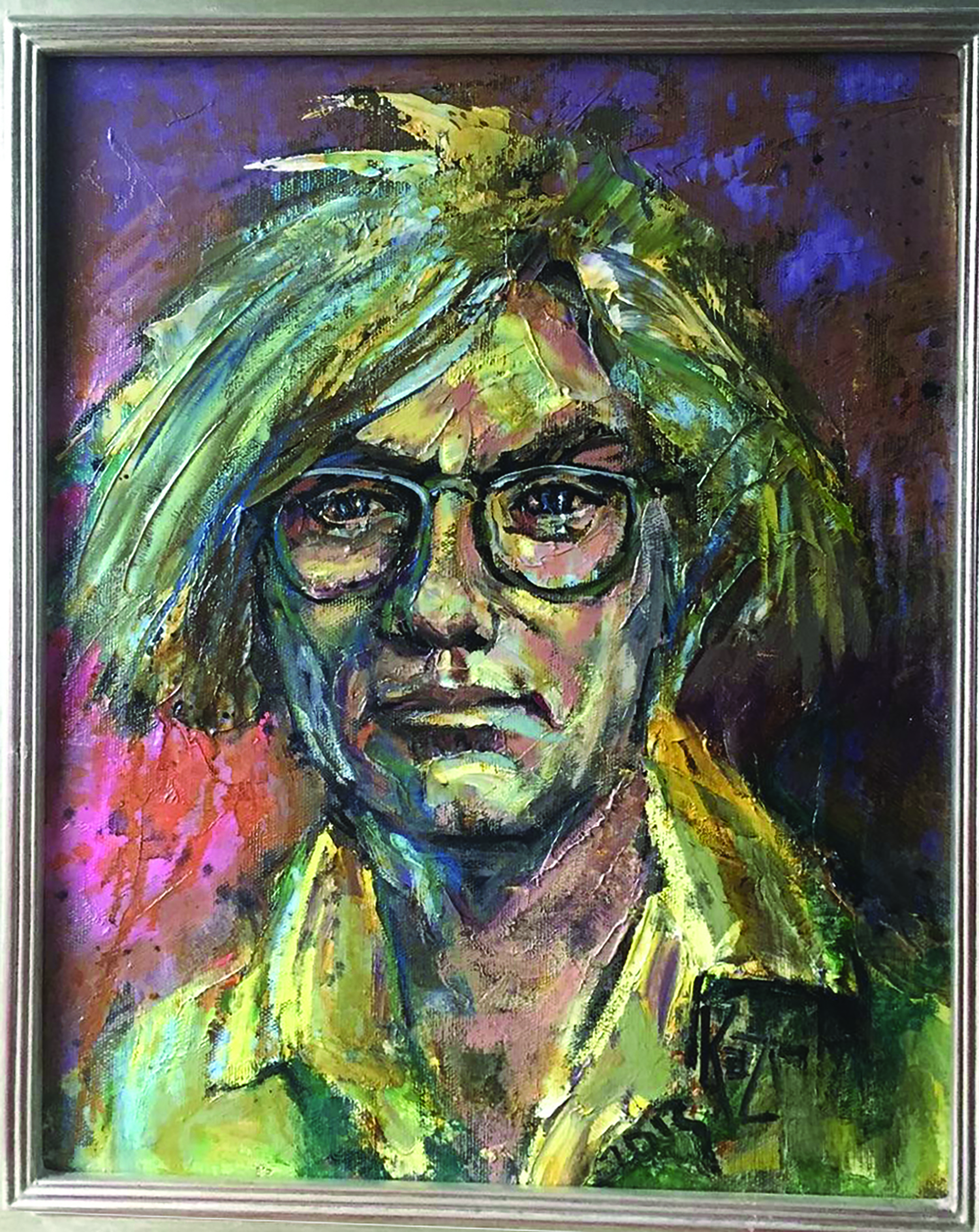 Warhol Portrait To Be Sold Here To Raise Money For Fallen Soldiers' Portraits