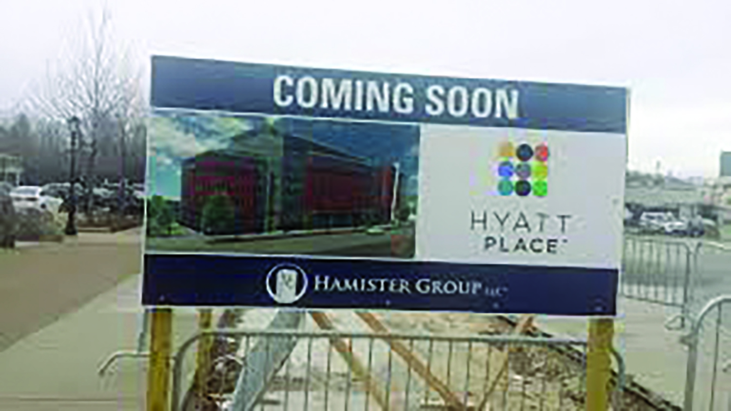 For years Hamister has promised to start building his ever cheaper hotel.