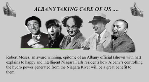 Time to change the name of Niagara County; Albany took our power and created poverty