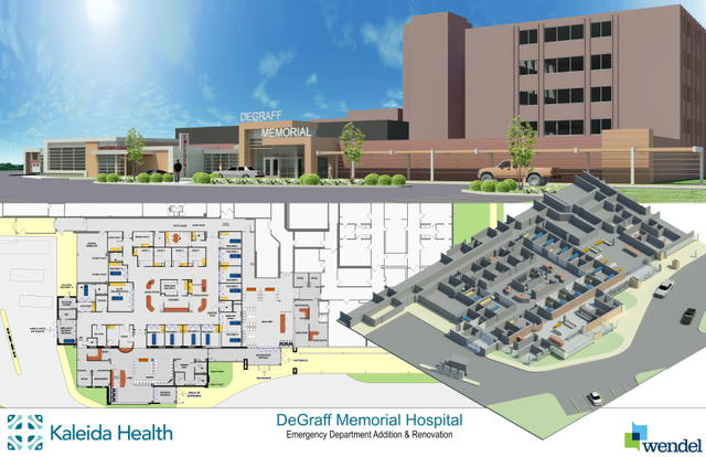 DEGRAFF MEMORIAL HOSPITAL TO DOUBLE SIZE OF EMERGENCY DEPARTMENT