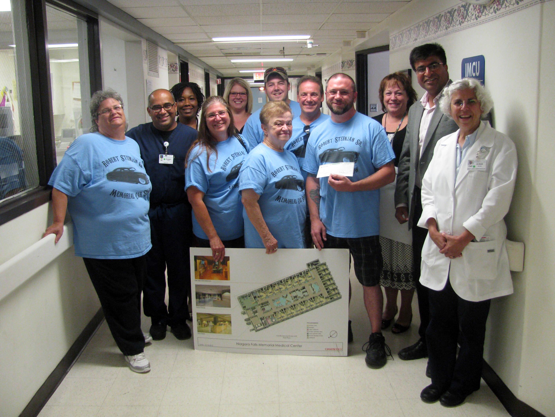 Steinjan family car show raises $6,700 for new Memorial Cardiac/Stroke Care unit