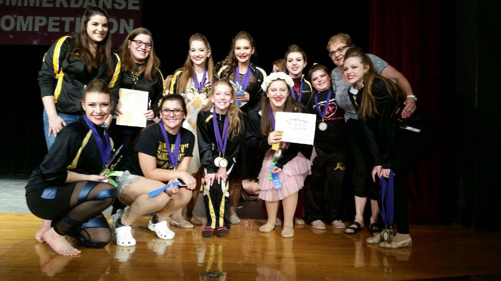 Niagara Falls Dance Studio  Wins Medals in Rochester