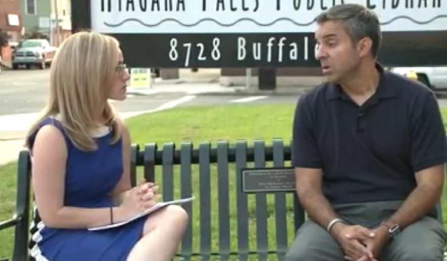 """""""She didn't just ask me that, did she?"""" Councilman Andy Touma appears flummoxed by a straightforward question from a local TV interviewer regarding the city's finances, a question for which he subsequently provided a nonsensical answer."""