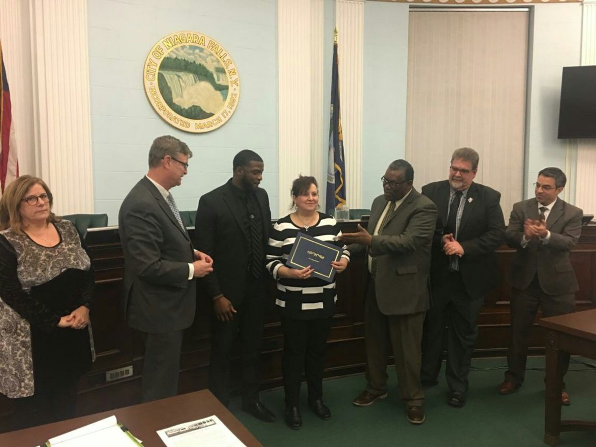 """A Council proclamation & Mayoral pin for Mary Ann Hess"" proclaims Mayor Dyster on Twitter. Too bad hard-working business owners like Ms. Hess are about to get socked with a 14% tax increase, courtesy of the mayor and 4 of 5 councilmembers pictured here."