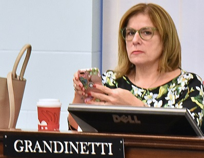 Wishing well for Kristen Grandinetti as she leaves behind council, few accomplishments