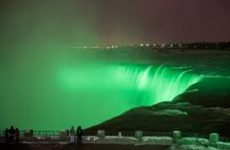 Niagara Falls to be Illuminated in Green for St. Patrick's Day