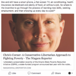 People's Voice Edition: Chris's Corner, A Conservative-Libertarian Approach to Poverty