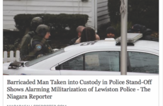 People's Voice Edition: Barricaded Man Taken Into Custody in Police Stand-Off Shows Alarming Militarization of Lewiston Police