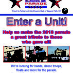 Be Part of the Niagara Falls Community Memorial Day Parade