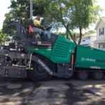 SLIDESHOW: NT Mayor Pappas Joins Members of DPW as They Roll Out New Paving Machine