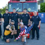 THE ACTION: 1000 Mile Runners Make Stop in Niagara Falls