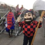 Lumberjacks Win 'T-NT' Football Game