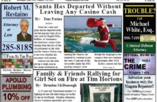December 26th Edition of the Niagara Reporter Newspaper