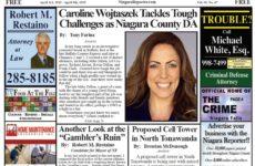 April 3rd, 2019, Edition of the Niagara Reporter Newspaper