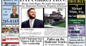 April 17th, 2019, Edition of the Niagara Reporter Newspaper