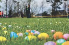 Pinewoods Park Easter Egg Hunt in North Tonawanda