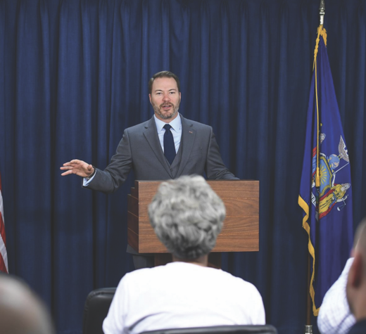 Current New York State Senator Rob Ortt.