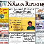 September 18th, 2019, Edition of the Niagara Reporter Newspaper