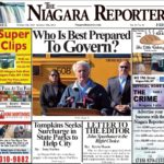 October 9th, 2019, Edition of the Niagara Reporter Newspaper