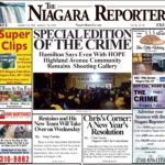 January 1st, 2020, Edition of the Niagara Reporter Newspaper