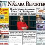 January 15th, 2020, Edition of the Niagara Reporter Newspaper