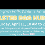 Niagara Falls Walk-a-Round Easter Egg Hunt Scheduled for Saturday throughout City