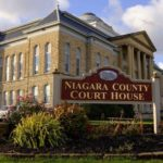 The Niagara County Courthouse where Lockport Family Court is located.