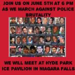 March Against Police Brutality Planned for June 5th in Niagara Falls