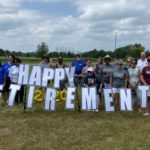 Retirees from Niagara Falls City Schools Celebrated with Motorcade