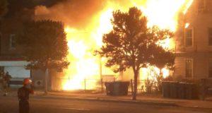 BREAKING: Deceased Body Found Behind Buildings Set Ablaze in Niagara Falls