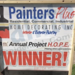 Painters Plus Home Decorating Announces 10th Annual Project HOPE Winner