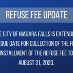 Niagara Falls Extends Refuse Fee Due Date to August 31st