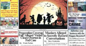September 16th, 2020, Edition of the Niagara Reporter Newspaper