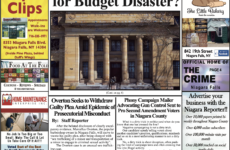 September 30th, 2020, Edition of the Niagara Reporter Newspaper
