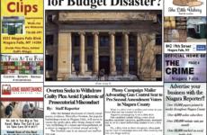 September 30th, 2020, Edition of the Niagara Reporter Newspaper