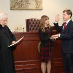 Brian Seaman Sworn in as Niagara County District Attorney