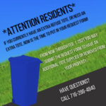 Refuse Cart Add or Removal Forms Due by End of January in Niagara Falls