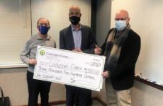 Cornerstone Community Federal Credit Union Donates $3,500 to Lockport CARES